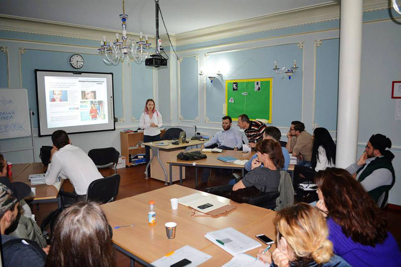 Hostalion - Hospitality Business  Management School - Activities - Meeting with Adelina Oprea